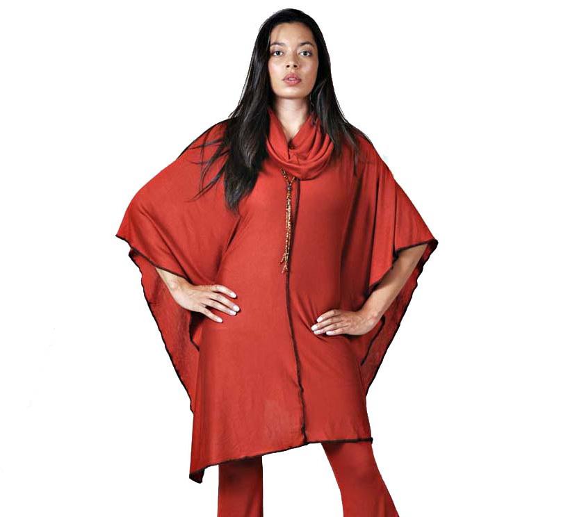 Womens Poncho Wrap Persephone Designer Clothing
