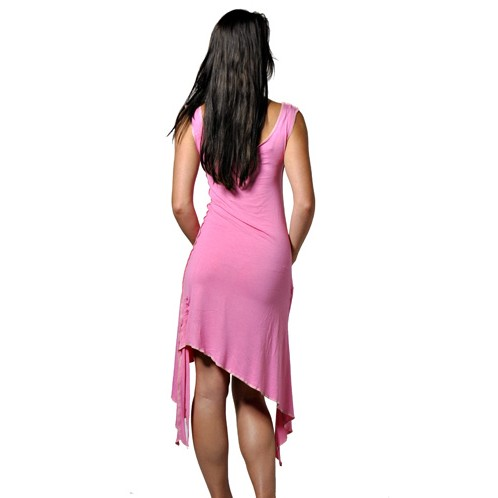 Tunic Stretch Dress - Back View