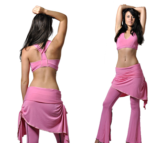Pink Dancers Workout apparel