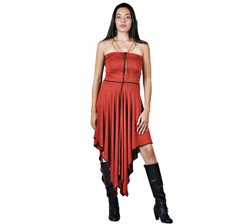 Stretchy Pancho Dress For Dance And Travel Persephone Clothing