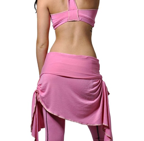 Pink Tunic Skirt Back view